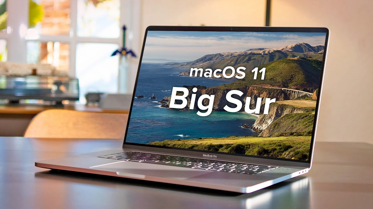 MacOS 11 big sur- latest operating system for Macs and MacBooks