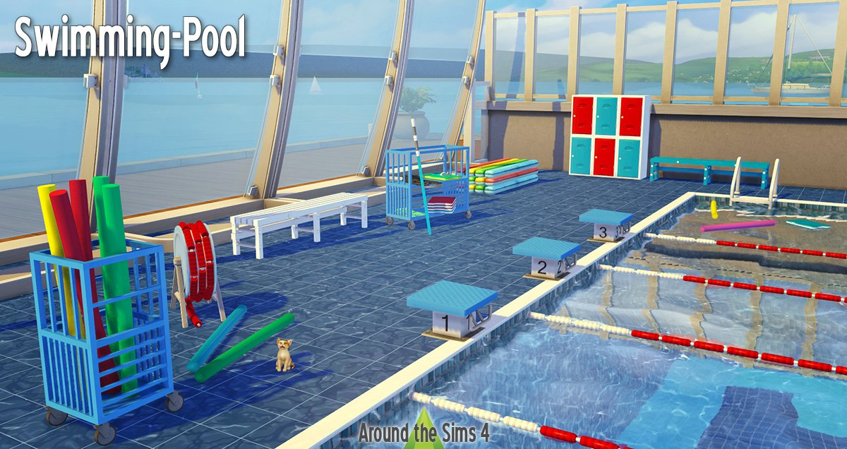 swimming pool in Sims 4